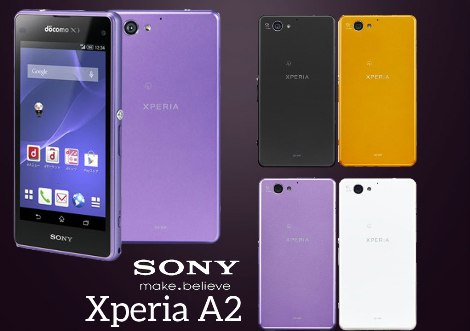 Sony Xperia A2 released in Japan